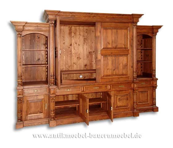 tvc 20ra fernsehschrank wohnzimmerwand schrankwand landhausstil country bohemia individuelle. Black Bedroom Furniture Sets. Home Design Ideas