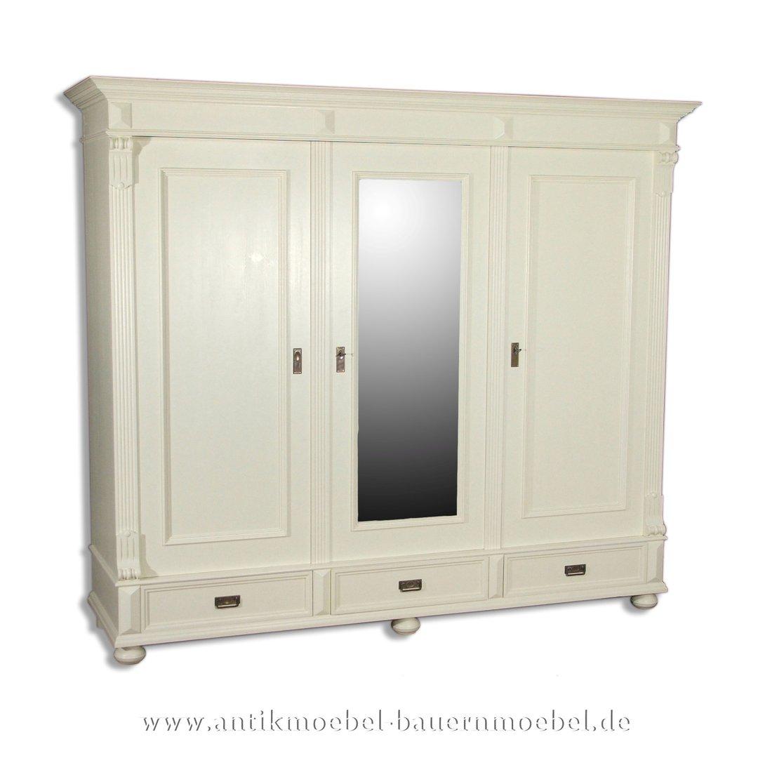 Kleiderschrank Schrank Schlafzimmermobel Massivholz Landhausstil