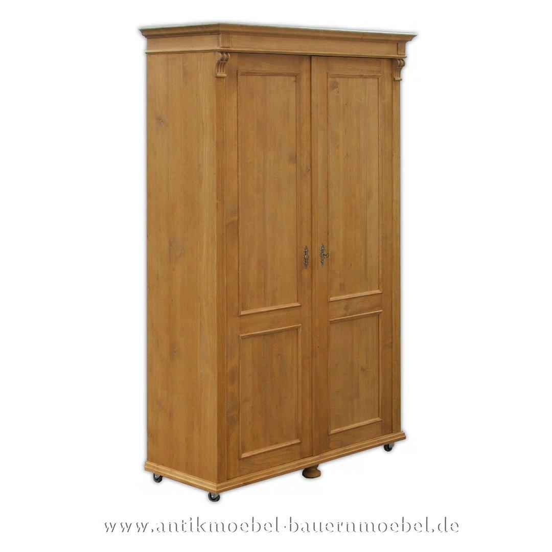 Kleiderschrank Besenschrank Garderobenschrank Massivholz