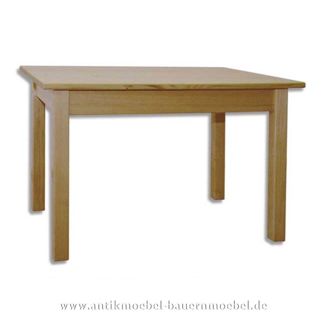 Esstisch Küchentisch Holztisch Quadratisch Massivholz