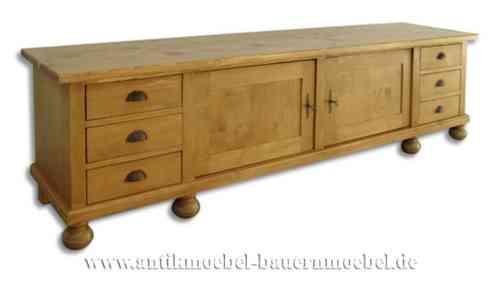 mix 02ra sideboard lowboard phonoschrank flur anrichte landhausstil country bohemia. Black Bedroom Furniture Sets. Home Design Ideas