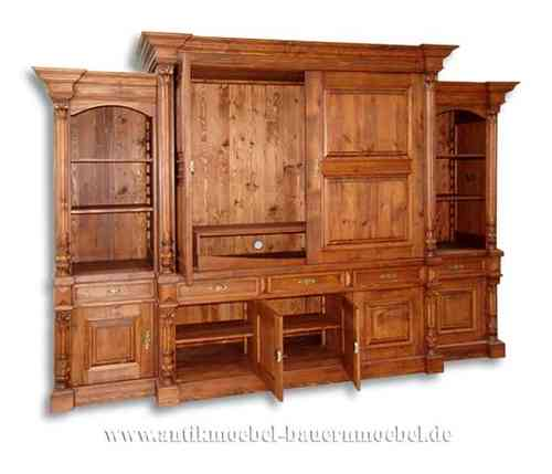 tvc 20ra fernsehschrank wohnzimmerwand schrankwand landhausstil country bohemia individuelle. Black Bedroom Furniture Sets. Home Design Ideas