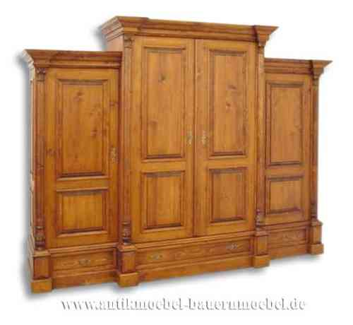 war 19ra wohnzimmerschrank schrankwand dielenschrank landhausstil country bohemia. Black Bedroom Furniture Sets. Home Design Ideas
