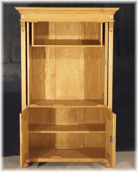 tv hifi schrank fernsehschrank massivholz geschlossen. Black Bedroom Furniture Sets. Home Design Ideas