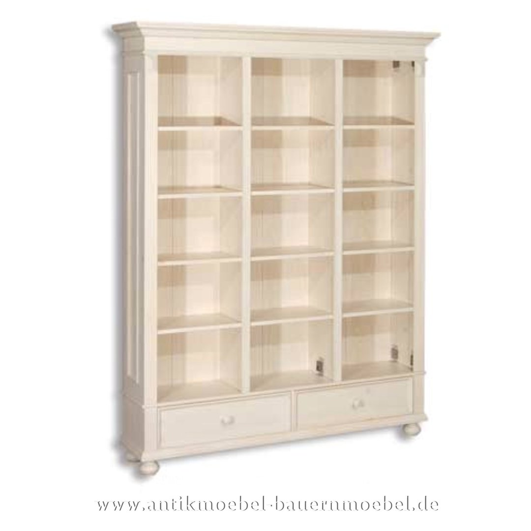 Bucherregal Bucherschrank Regalwand Regal Landhausstil Grunderzeit