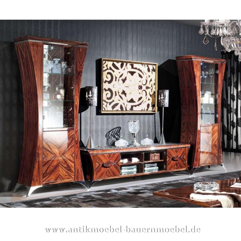 Extravagant Wohnwand Wohnzimmerschrank Wohnzimmerkombi Palisander
